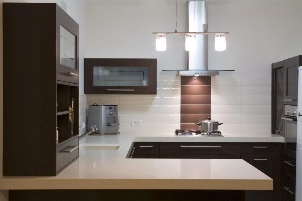 a modern type kitchen